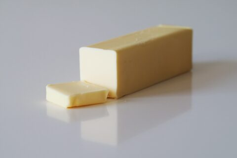 a stick of butter before being prepare for babies starting solids