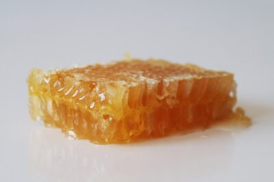 a honeycomb before being prepared for toddlers starting solids