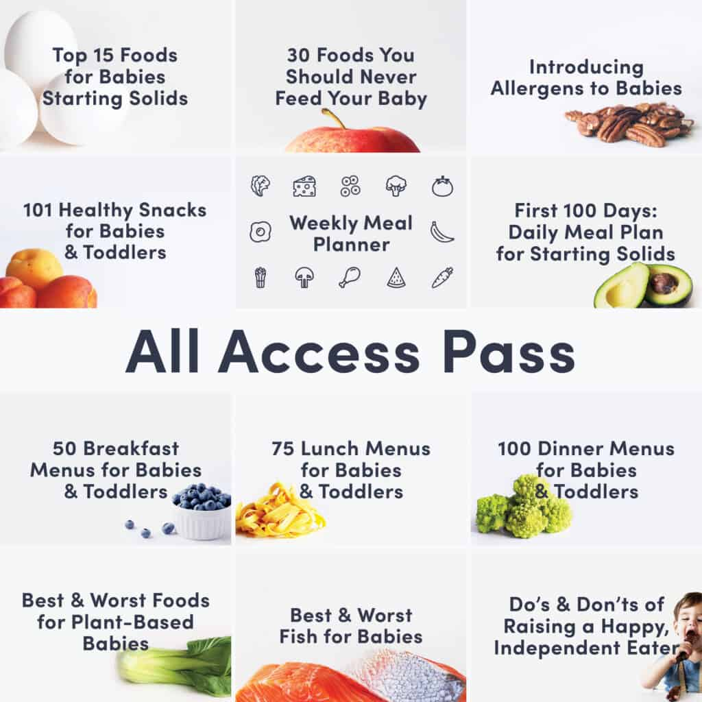 "A grid of guide covers showing all Solid Starts guides and the words ""All Access Pass"""