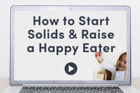 How to Start Solids & Raise a Happy Eater online course